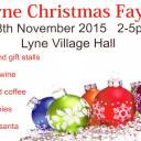 Lyne Christmas Fayre